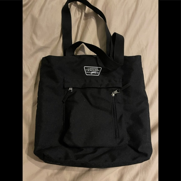 Vans black Canvas Tote Bag